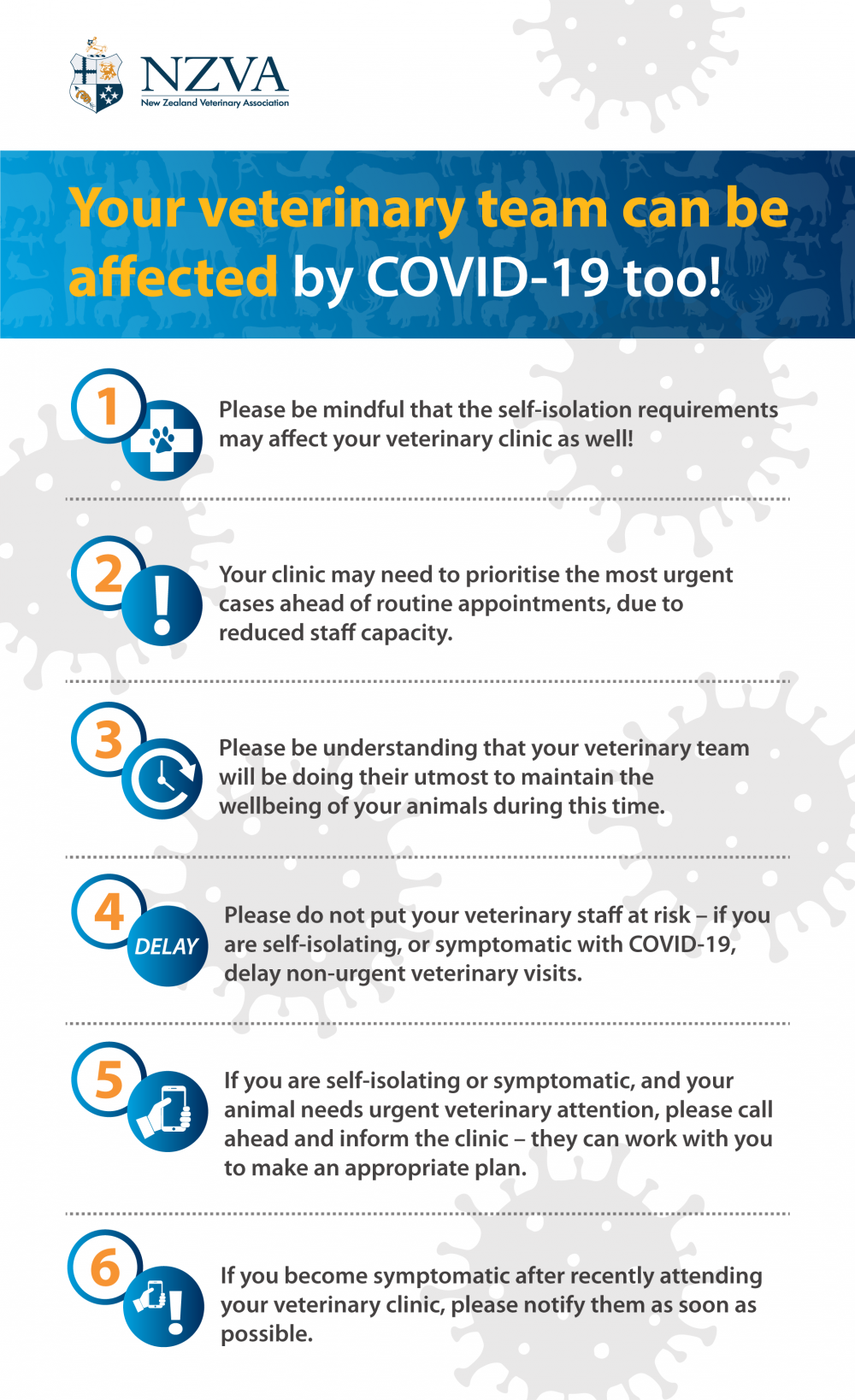 COVID-19: Help Us So We Can Help You